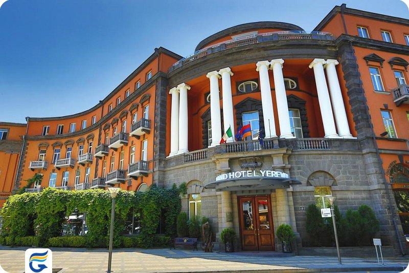 بهترین هتل 5 ستاره ارمنستان