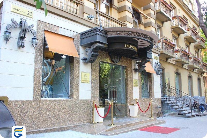 نرخ هتل های ایروان