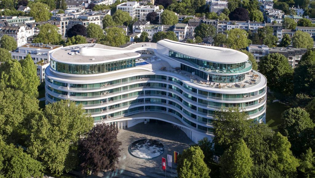 هتل فونتنای هامبورگ - قیمت هتل های 5 ستاره هامبورگ