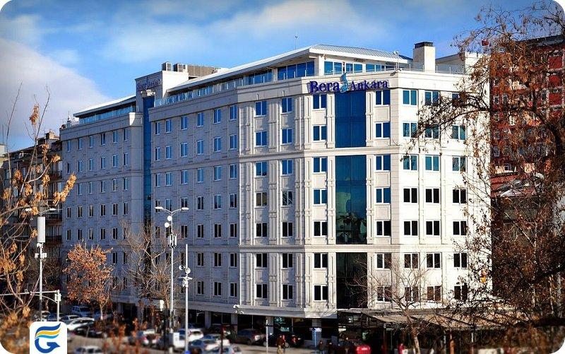 هتل برا آنکارا Bera Ankara Hotel- قیمت هتل 5 ستاره در آنکارا - قیمت آپارتمان در آنکارا