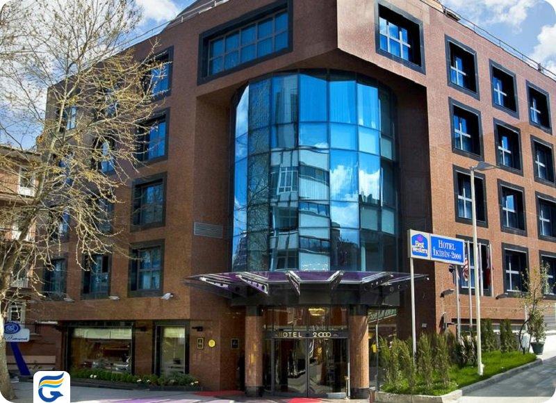 هتل بست وسترن آنکارا Best Western Hotel 2000- لیست هتل های خوب آنکارا  - اجازه آپارتمان در آنکارا
