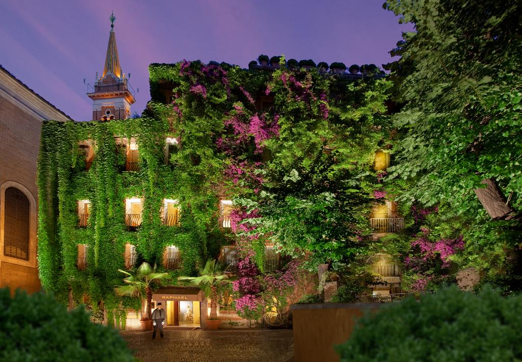هتل بیو رافائل رم - هتل های 5 ستاره رم