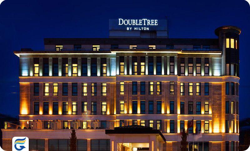 رزرو آنلاین هتل در وان - هتل دابل تری بای هیلتون وان DoubleTree by Hilton Hotel
