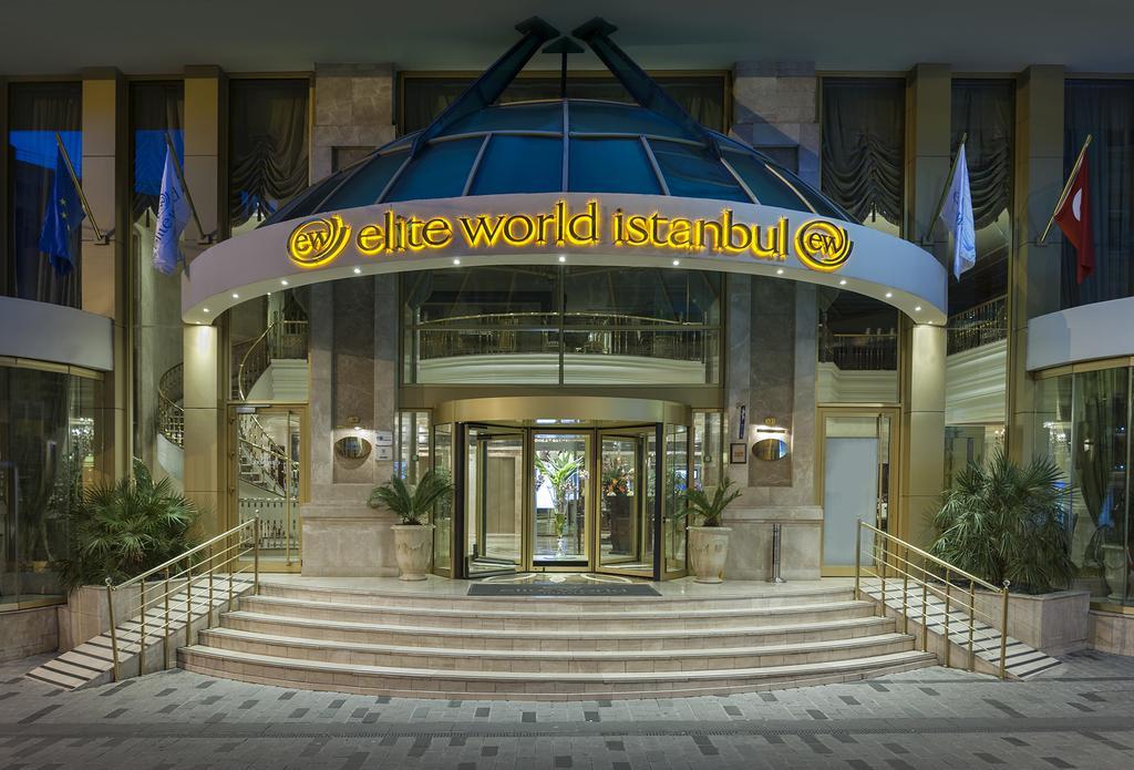 هتل الیت ورلد استانبول - هتل های میدان تکسیم 5 ستاره در استانبول