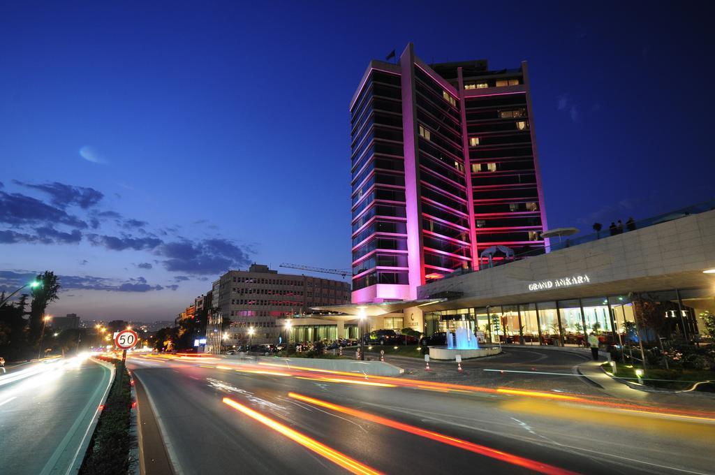 هتل گرند آنکارا Grand Ankara Hotel - هزینه اقامت در هتل 5 ستاره