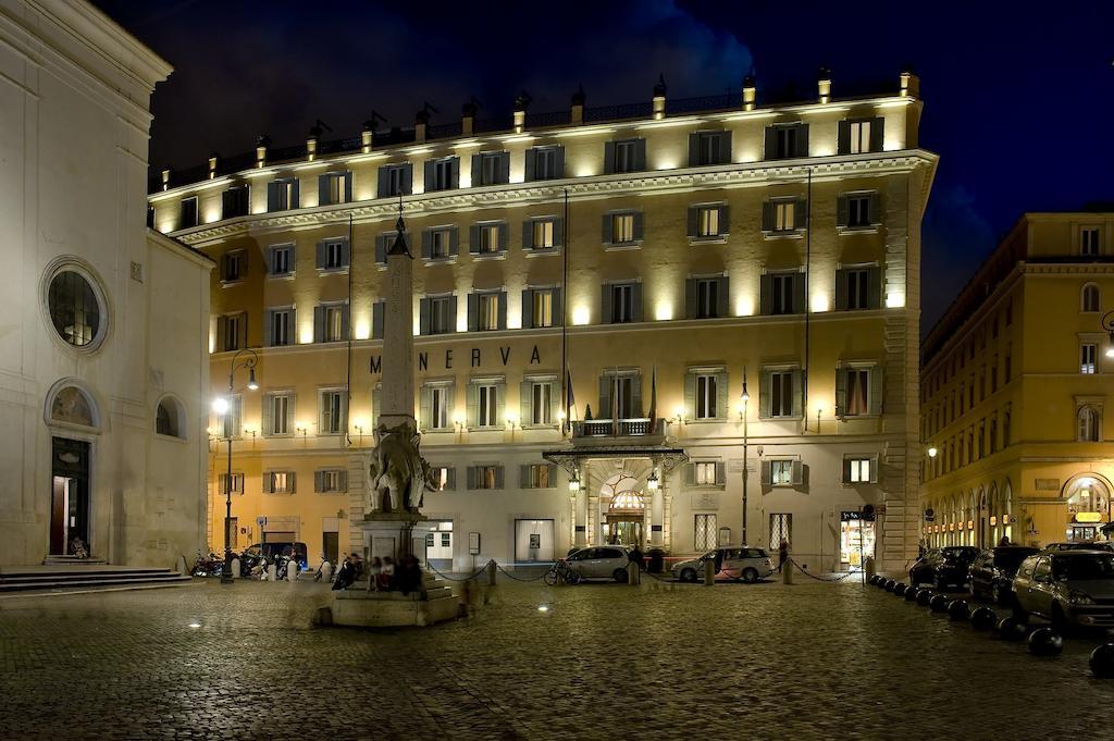 هتل گرند د لا مینروا رم ایتالیا - ارزانترین هتل 5 ستاره ایتالیا رم