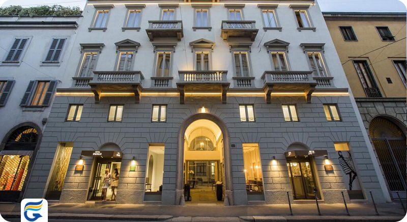 هتل ایندیگو میلان ایتالیا - رزرو هتل برای ویزا ایتالیا