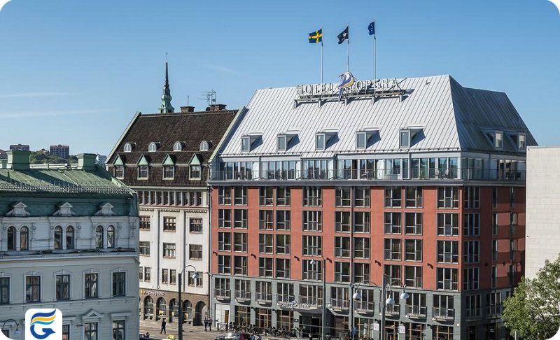 هتل اپرا گوتنبرگ - کارگزار اصلی هتل های گوتنبرگ