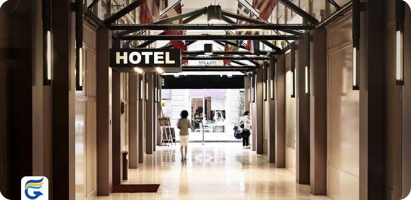 هتل ریتر میلان ایتالیا - رزرو رایگان هتل میلان برای سفارت و ویزا