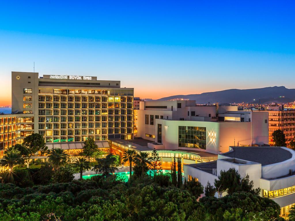 هتل سوئیس بویوک افس ازمیر - هتل های 5 ستاره استخر دار ازمیر - سوئیت ارزان در ازمیر