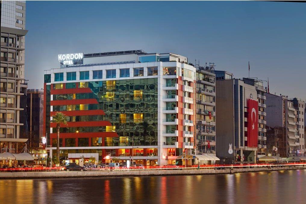 هتل کوردون پاساپورت ازمیر - اجاره اتاق در ازمیر ترکیه
