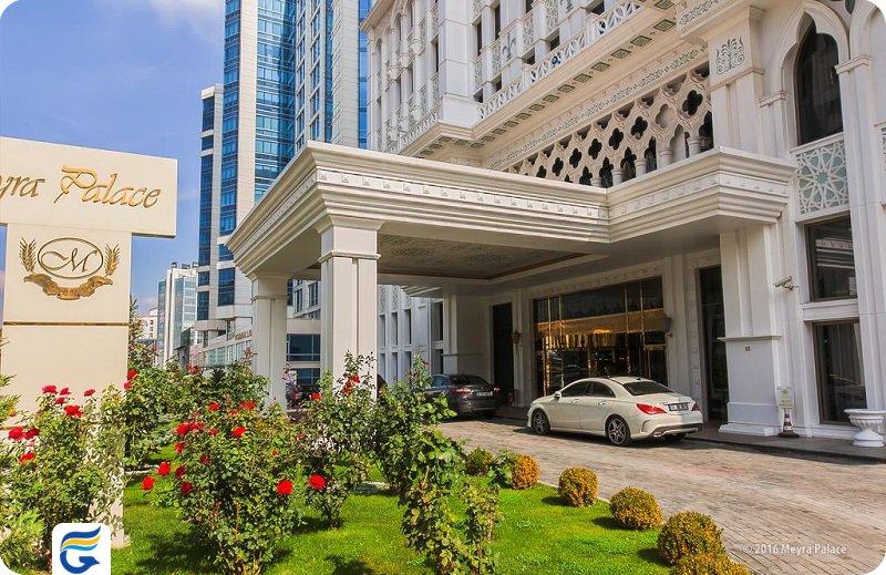 هتل میرا پلس آنکارا Meyra Palace hotel- خرید آنلاین بلیط هتل های آنکارا