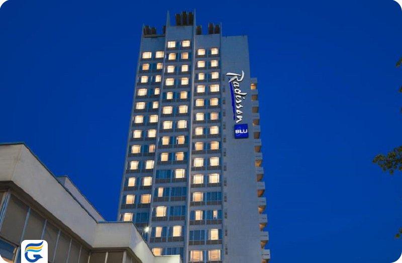 هتل رادیسون بلو Radisson Blu Hotel- لیست هتل های 4 ستاره آنکارا
