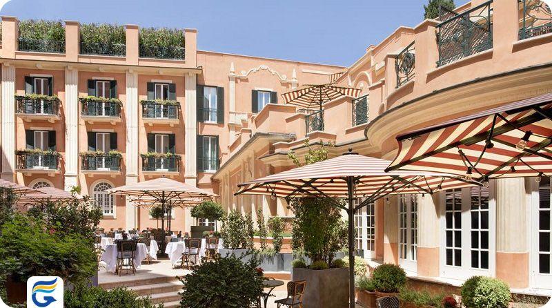 هتل روکو فورت رم - قیمت هتل های 5 ستاره رم