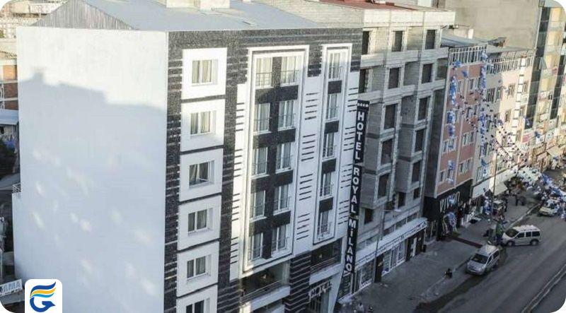 نرخ هتل های وان - هتل رویال میلانو وان Royal Milano Hotel