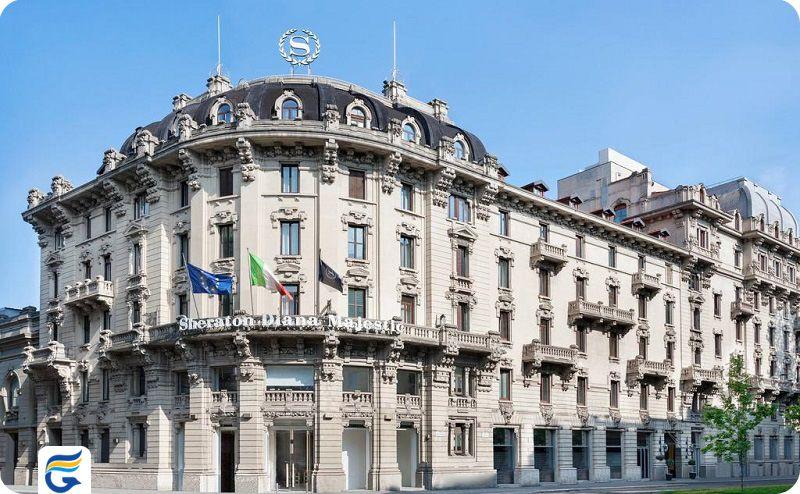 هتل شرایتون دایانا مجستیک ایتالیا - نرخ هتل های میلان
