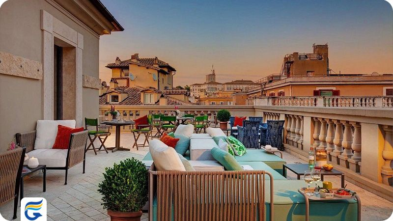 هتل سینگر پالاس رم - رزرو هتل در رم برای ویزا و سفارت