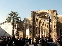 نمایی از شهر دمشق