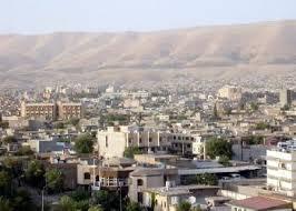 نمایی از شهر سلیمانیه