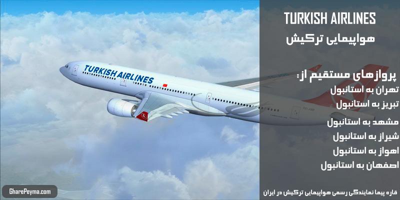 قیمت و روزهای پرواز هواپیمایی ترکیش شیراز به مینسک بلاروس