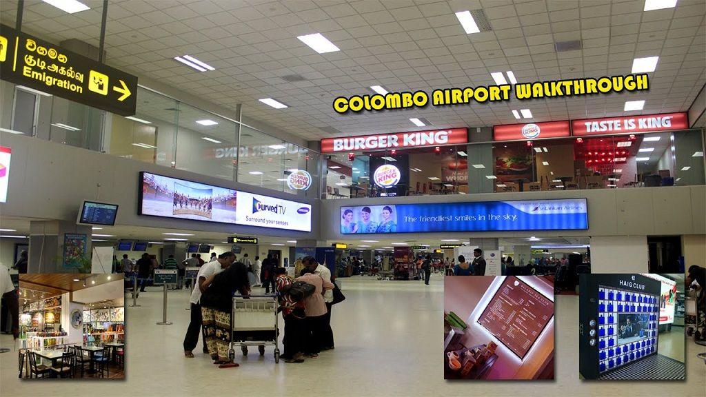 فرودگاه اصلی کلمبو