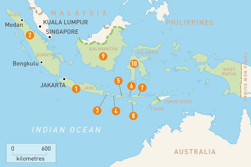 قیمت و رزرو و خرید بلیط پروازهای داخلی اندونزی