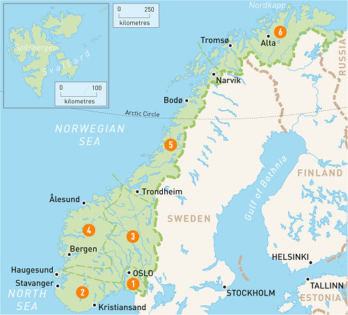 قیمت و رزرو و خرید بلیط پروازهای داخلی نروژ