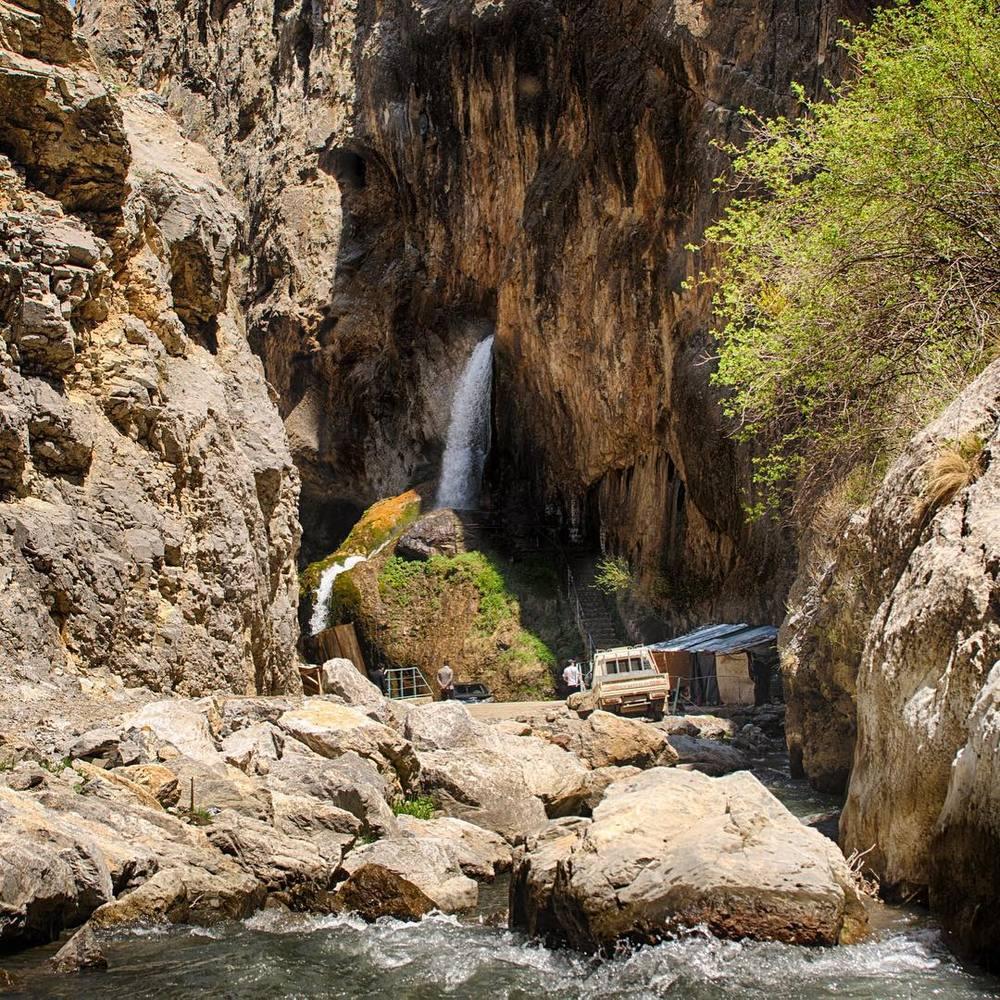 آبشار آبشیر آتا قرقیزستان Abshir Ata Waterfall- فروش ویژه بلیط قرقیزستان