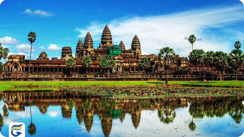 آنگکور وات کامبوج Angkor Wat- قیمت بلیط رفت و برگشت کامبوج