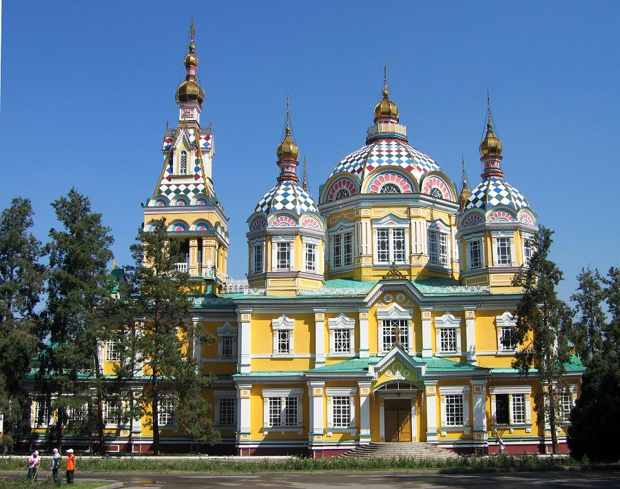 کلیسای جامع صعود، آلماتی قزاقستان Ascension Cathedral, Almaty