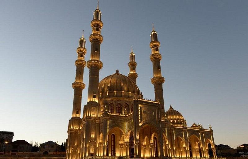 مسجد بی بی هیبات آذربایجان Bibi-Heybat Mosque
