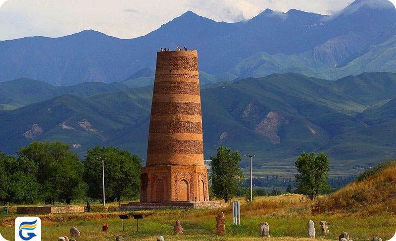 برج بورانا قرقیزستان Burana Tower- بلیط چارتر بیشکک