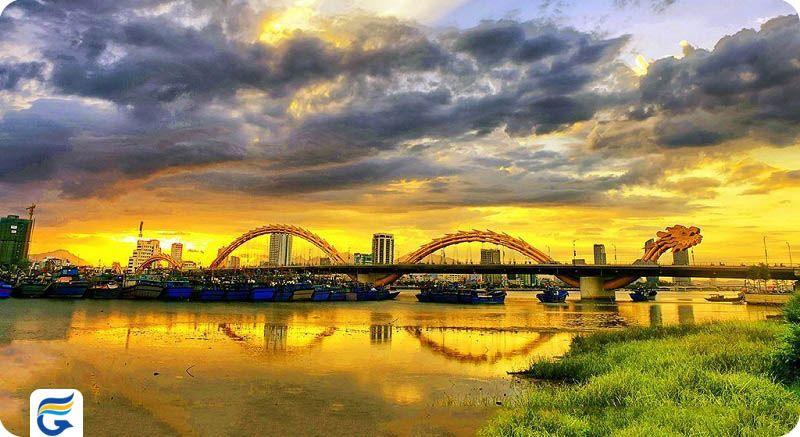 پل اژدها ویتنام Dragon Bridge- مبلغ بلیط های ویتنام