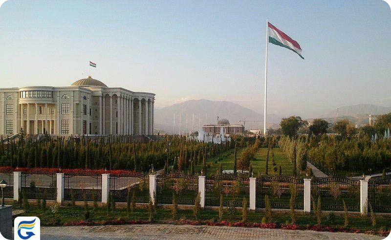 بلیط چارتر تاجیکستان