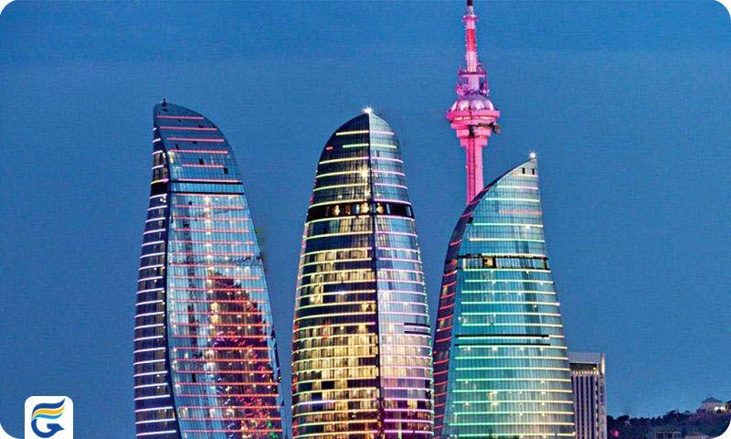 ارزانترین و بهترین پروازهای آذربایجان