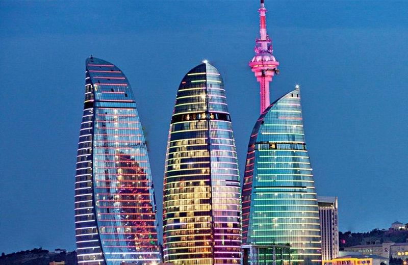 برج های شعله آذربایجان Flame Towers