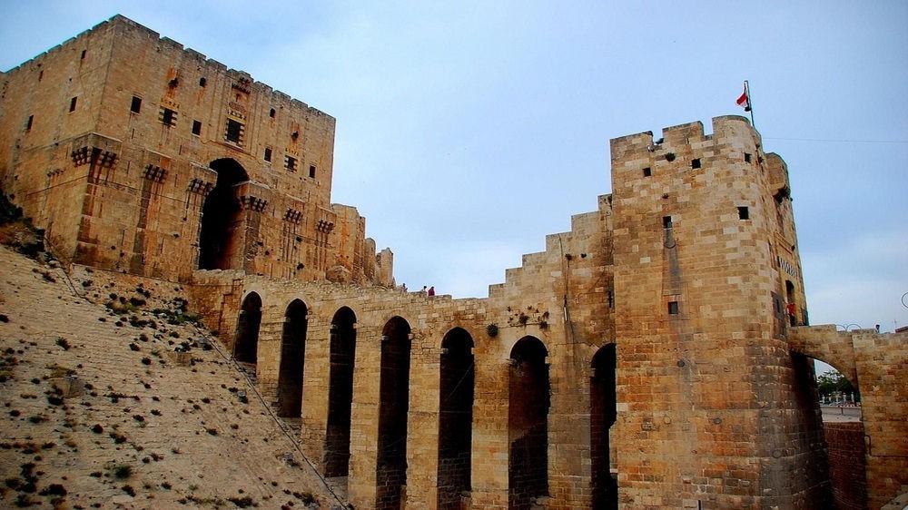 قلعه تاریخی سوریه