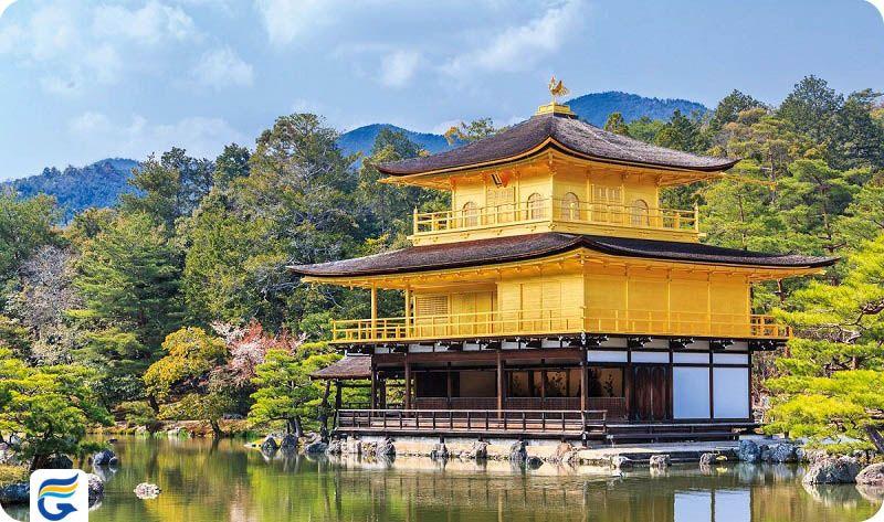 غرفه طلایی ژاپن Golden Pavilion- فروش ویژه بلیط ژاپن