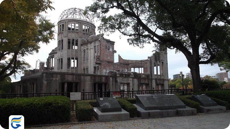 یادبود صلح هیروشیما ژاپن Hiroshima Peace Memorial- ارزانترین نرخ پروازهای ژاپن