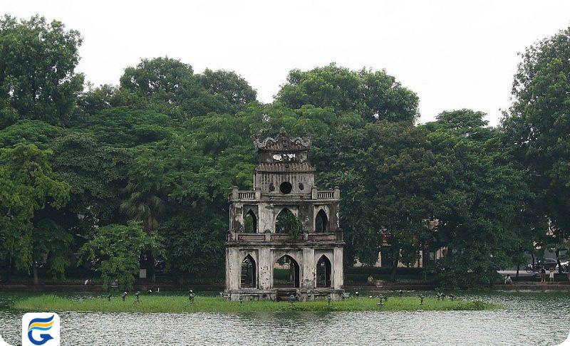دریاچه هوان کیم ویتنام Hoàn Kiếm Lake- پرواز مستقیم تهران ویتنام