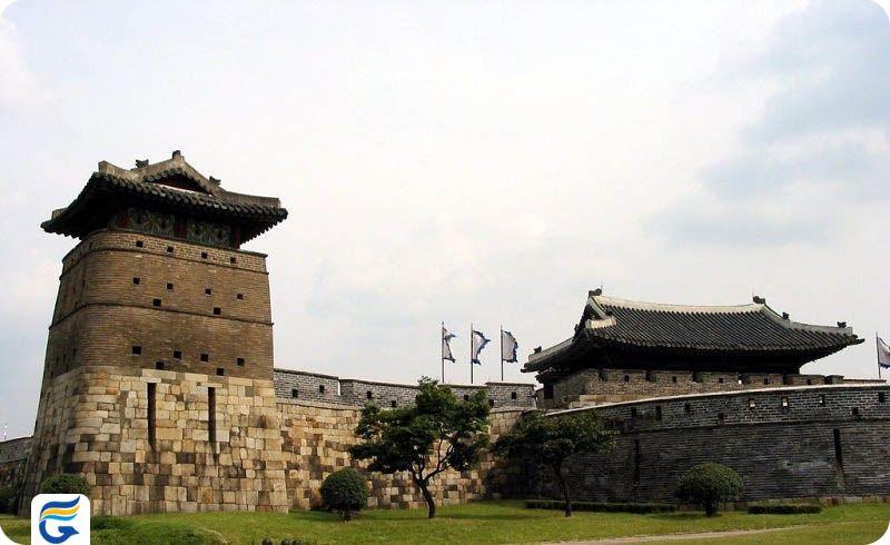 قلعه هواسونگ کره جنوبی Hwaseong Fortress- پرواز مستقیم کره جنوبی از ایران