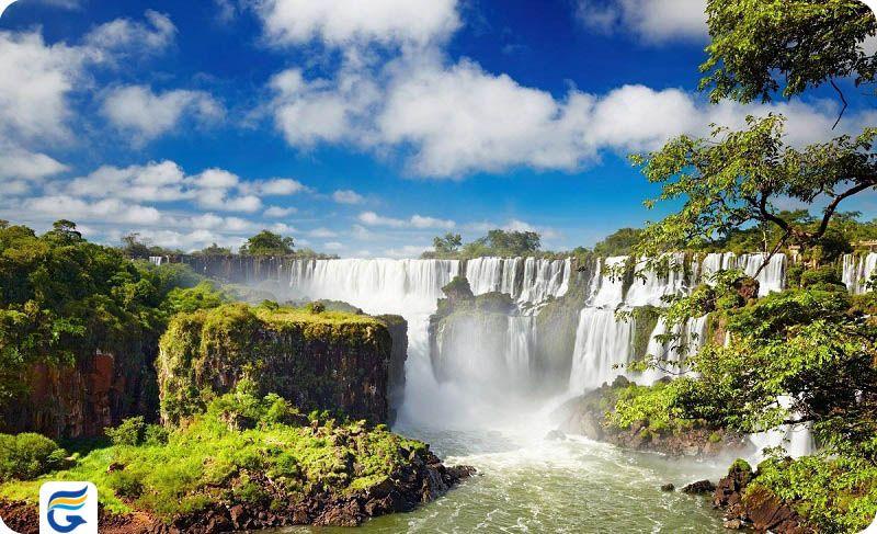 آبشار ایگواسو برزیل Iguacu Falls- بهترین ایرلاین برای پرواز به برزیل