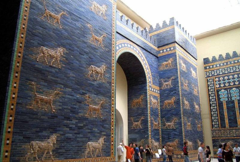 دروازه ایشتار عراق Ishtar Gate