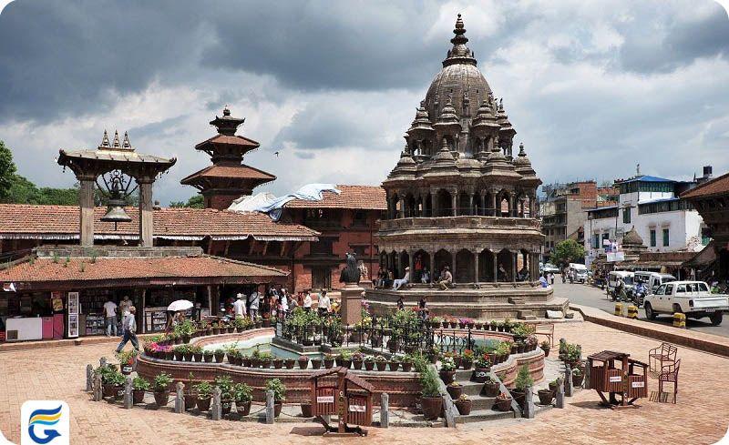 بلیط چارتر و لحظه آخری نپال - میدان دوربار، نپال Kathmandu Durbar Square