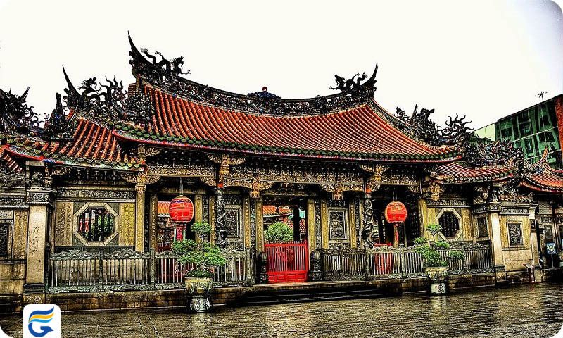 معبد لونگشان تایوان Lungshan Temple- فروش ویژه بلیط تایوان