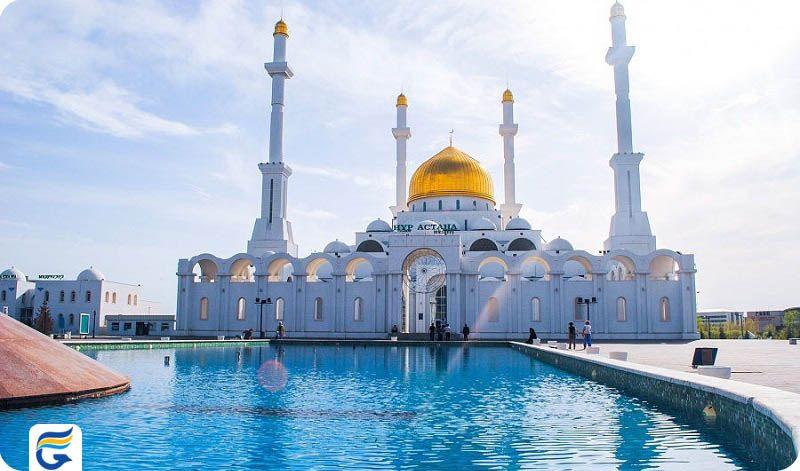 رزرو اینترنتی پروازهای مستقیم قزاقستان