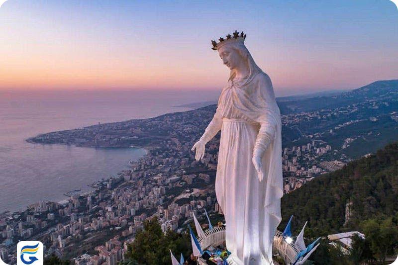 قیمت بلیط رفت و برگشت تهران لبنان