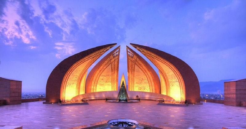 بنای یادبود پاکستان - خرید بلیط رفت و برگشت پاکستان از تهران مشهد و شیراز