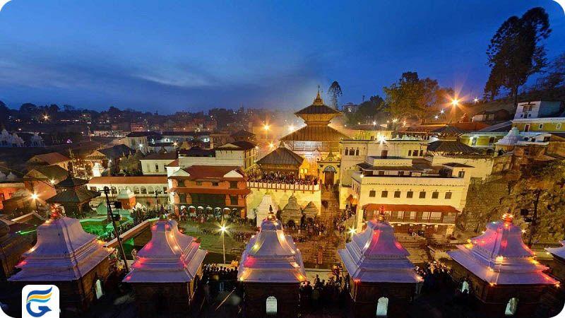پرواز مستقیم نپال - معبد پاشوپاتینات نپال Pashupatinath Temple