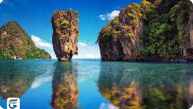 خلیج فانگ نا تایلند - بلیط ارزان قیمت رفت و برگشت تایلند